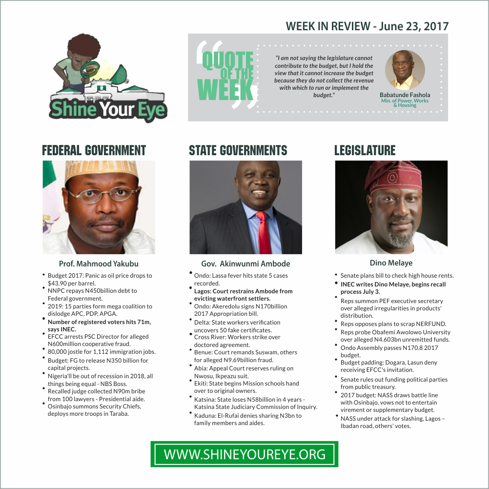 SYE Week in Review, June 23